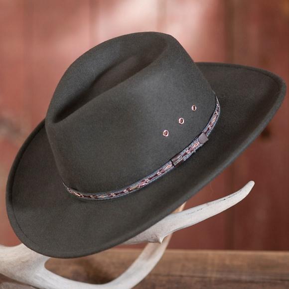 c9c3bd5e5137c Stetson Elk Horn Hat. M 5abbce1a00450fad4ad41b8b